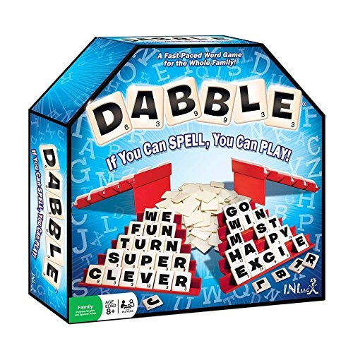 (Dabble Word Game - If You Can Spell, You Can Play - Award Winning, Educational, Improves Spelling & Vocabulary and is Fun for The Whole Family)