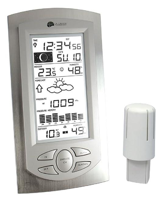La Crosse Technology WS 9032 - Estación meteorológica (Aluminio ...