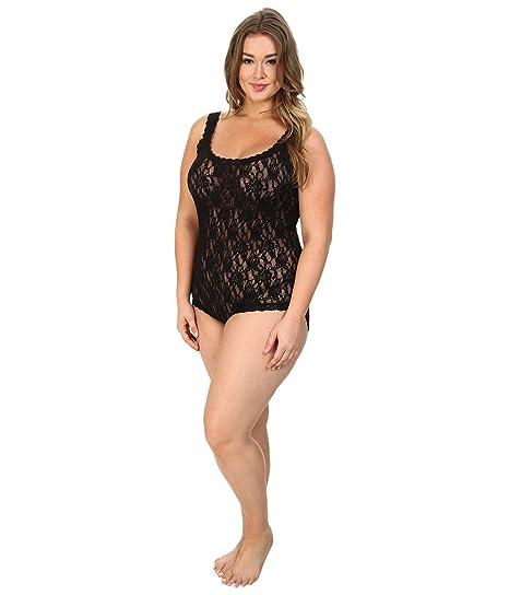 605483811 Hanky Panky Womens Plus Size Signature Lace Bodysuit at Amazon ...