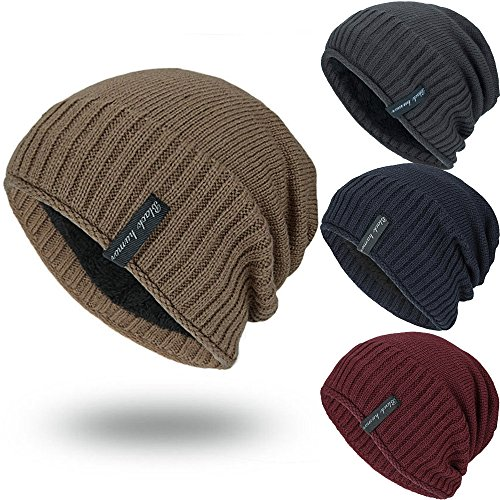 9cce31aea7a iYBUIA New Unisex Knit Cap Hedging Head Hat Beanie Cap Warm Outdoor Fashion  Hat(Gray