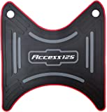 AutoMall Rubber Scooty Foot Mat for Access 125 (Multicolour)