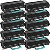 10 Inkfirst® Toner Cartridges X463 (X463X21G) Compatible Remanufactured for Lexmark X463 Extra High Yield Black X463 X463DE X464 X464DE X466 X466DE X466DTE X466DWE