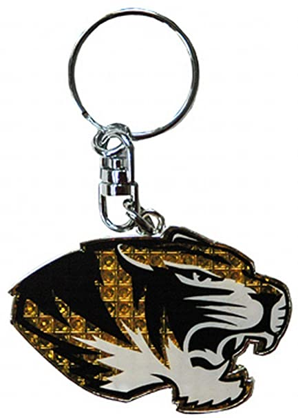 Amazon.com: NCAA Missouri Tigers Llavero Shanghi Dmnd ...