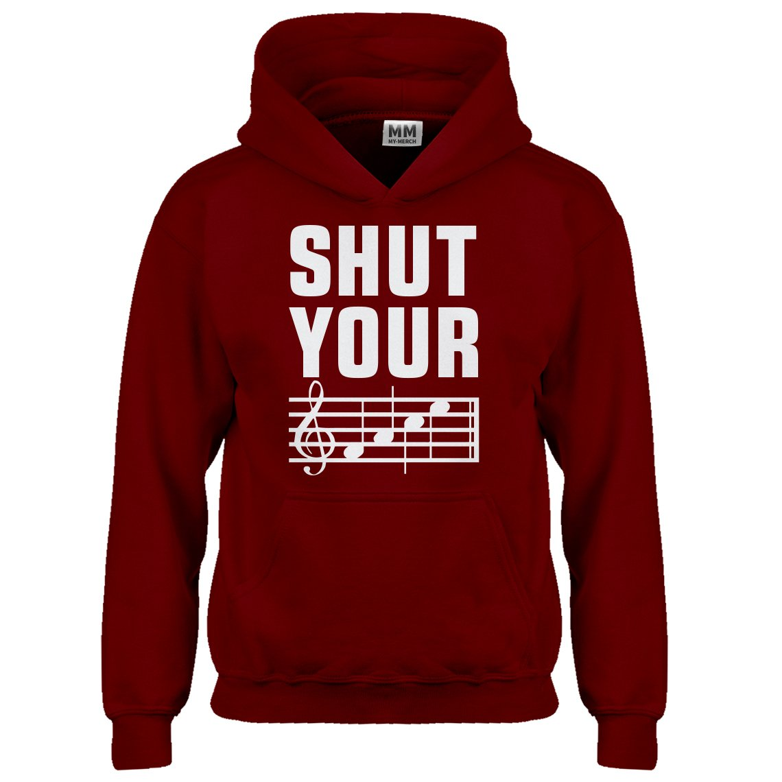 Indica Plateau Youth Shut Your Face Kids Hoodie