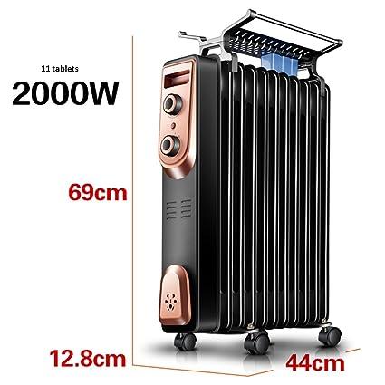 HAKN calentador Calentador eléctrico del termostato eléctrico Radiador eléctrico del ahorro de energía 7 color opcional