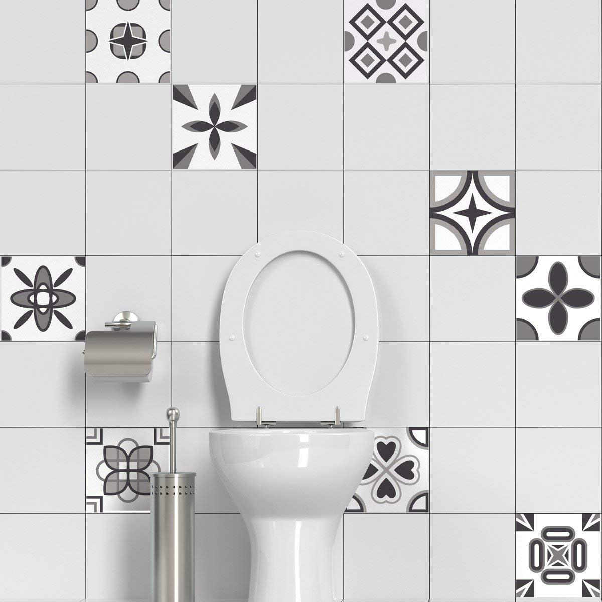 Carrelage adhésif Mosaïque carrelage mural salle de bain et ...
