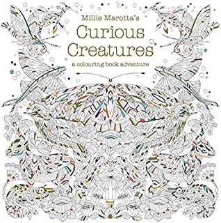 Millie Marottas Curious Creatures A Colouring Book Adventure Books