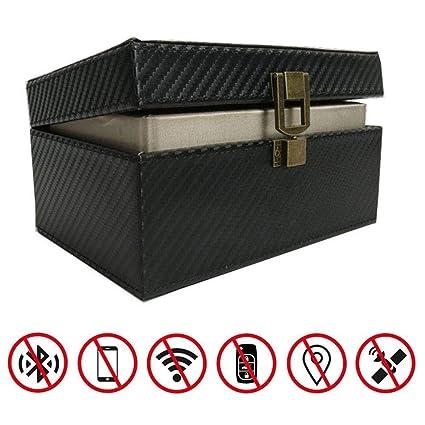 Goglor Faraday Box, bloqueo de señal de coche sin llave, RFID ...