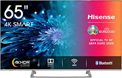 Hisense H65BE7400 Smart TV 65 4K Ultra HD, 3 HDMI, 2 USB, Salida Óptica, WiFi, Bluetooth,