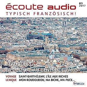 Écoute audio - Beaubourg, la culture au centre de Paris. 1/2017 Hörbuch