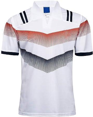 Axdwfd Traje de Rugby Las Camisetas de fútbol, Ropa de Deporte Pista de Jogging