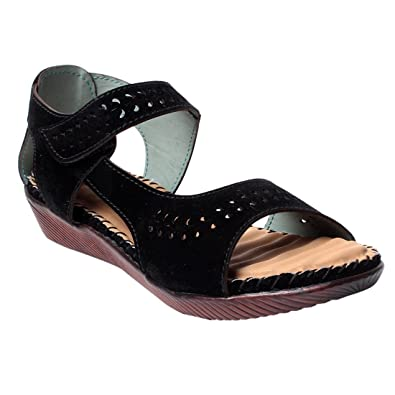 6dffd45034a5 Sneha Unique Seude   Sole PVC Airmax Casual Sandal  Buy Online at Low Prices  in India - Amazon.in