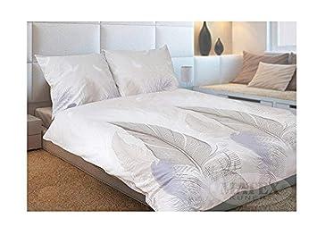 Bettwäsche Federn In Kuscheliger Biber Qualität Gr 140x200 70x80