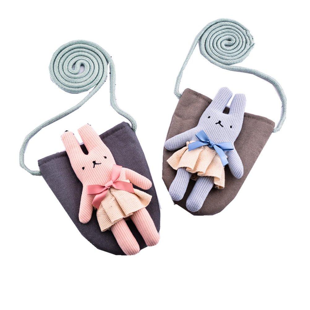 ADIASEN 1pc Mini Small Cute Rabbit Handbag Shoulder Bag For Toddlers Girl Boy Baby Thanksgiving Gift
