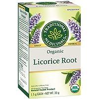 Traditional Medicinals Organic Licorice Root, 20 tea bags, 30g