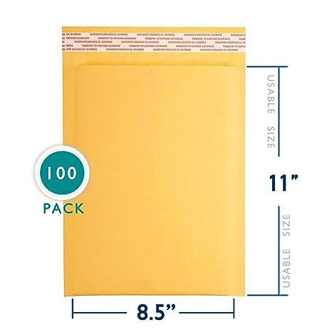 Amazon.com: Kraft Bubble Mailer: Office Products