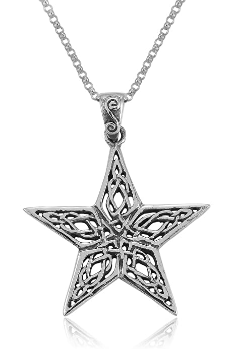 Wiccan Mother Moon Goddess Sterling Silver Clip Charm Wiccan Pagan Jewelry
