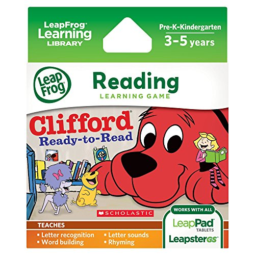 LeapFrog Scholastic Clifford Learning LeapsterGS