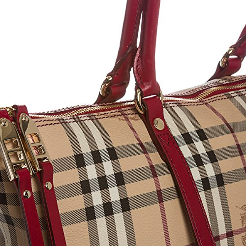Burberry , Damen Schultertasche Rot Military Red