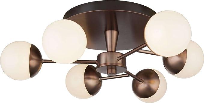 LED Lámpara de techo lámpara de techo dormitorio Proyección ...