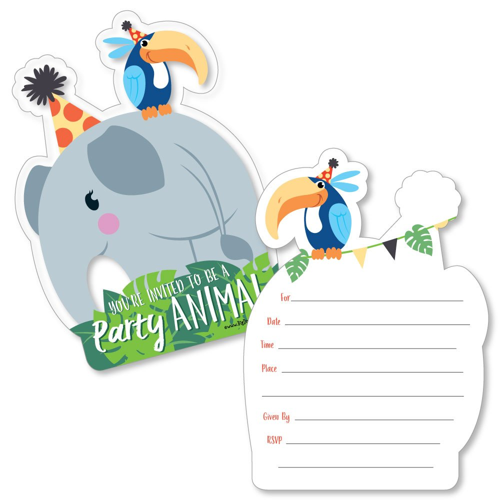 Amazon Jungle Party Animals