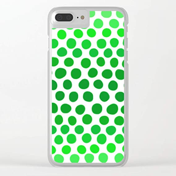 buy online e018f 93c4e Amazon.com: DEYING Apple Green and White Dots Ombre Novelty ...