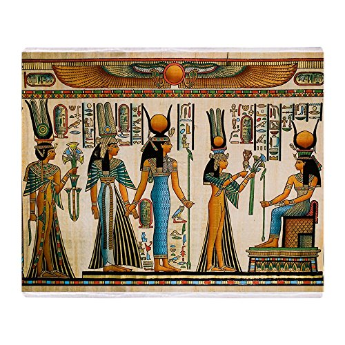 CafePress - Ancient Egyptian Wall Tapestry - Soft Fleece Throw Blanket, 50