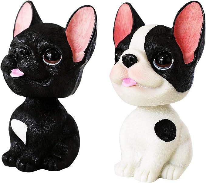 French Bulldog Shake Head Toy Dolls Cute Decoration Dashboard Nodding Dog Figure