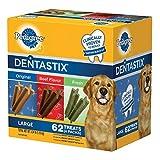 Pedigree DentaStix Dog Treats Assorted Flavors 62 Treats For Sale