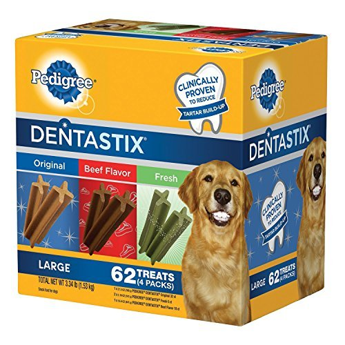 Pedigree DentaStix Dog Treats Assorted Flavors 62 Treats For Sale