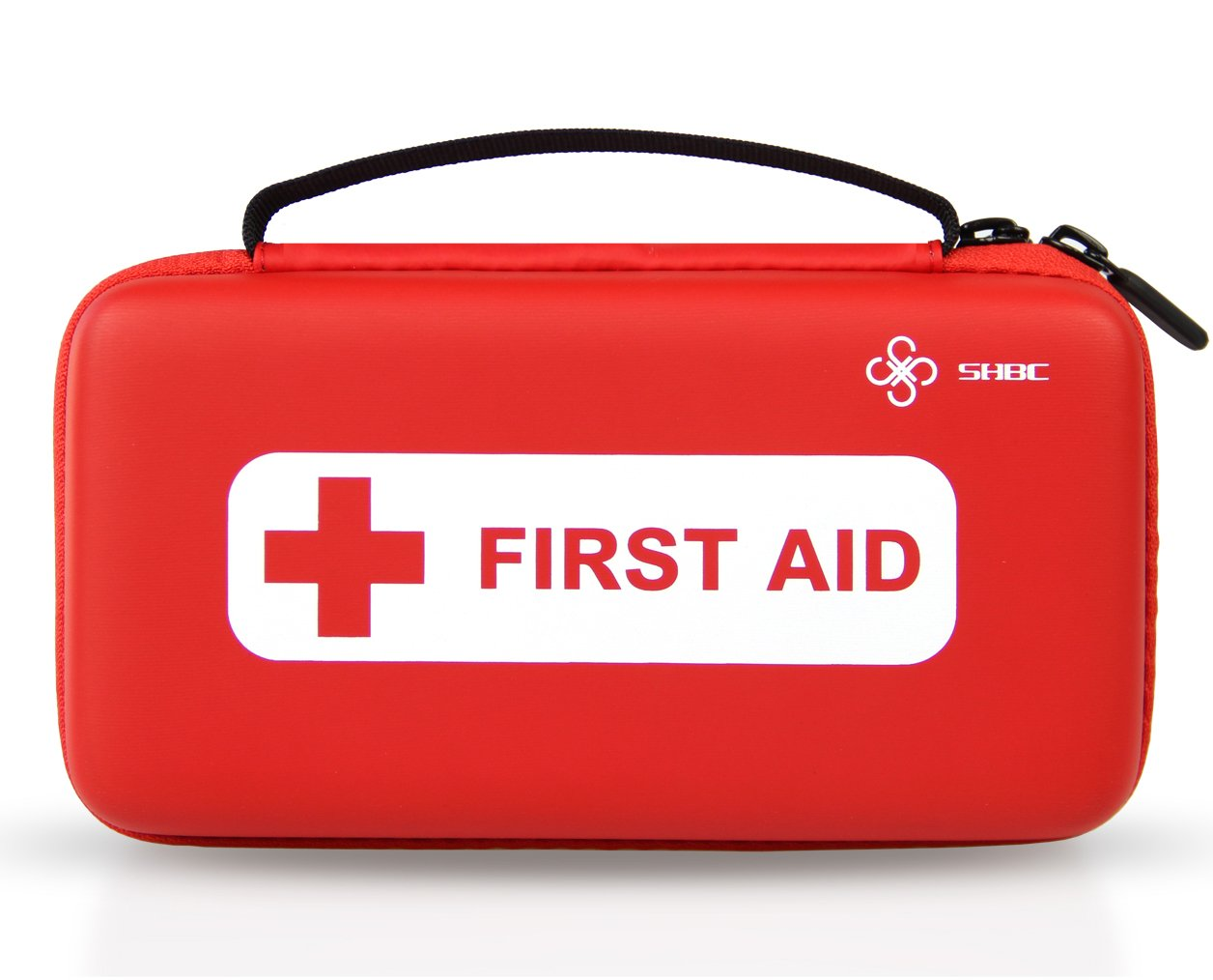 SHBC First aid kit (152 Piece) FDA Medical Supplies Small Waterproof Emergency at Home, Outdoors, Boat, Car, Camping, Workplace, Travel, Hiking & School; Survival.