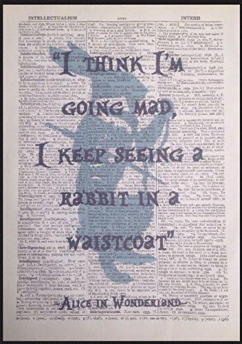 Parksmoonprints Poster Da Parete Con Frase Di Alice Nel Paese