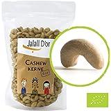 Cashewkerne bio Jalall D'or | 1kg | naturbelassen | BIO zertifiziert | GANZ | BIO CASHEWKERNE frisch abgefüllt | wertvolle MAGNESIUM-Quelle | natürlicher TRYPTOPHAN-Lieferant | Cashewnüsse 1000 g