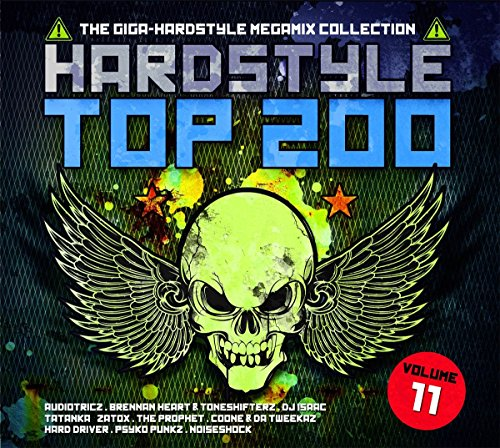 VA-Hardstyle Top 200 The Giga-Hardstyle Megamix Collection Volume 11-4CD-FLAC-2017-VOLDiES Download