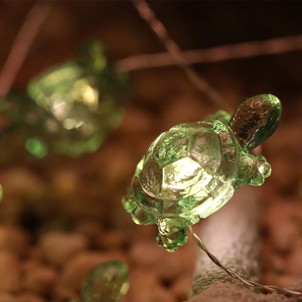 Mobestech 40 LEDs luz de la tortuga Decoraci/ón de cadena Fiesta de Navidad Festival de la boda Linterna de vacaciones Luz USB