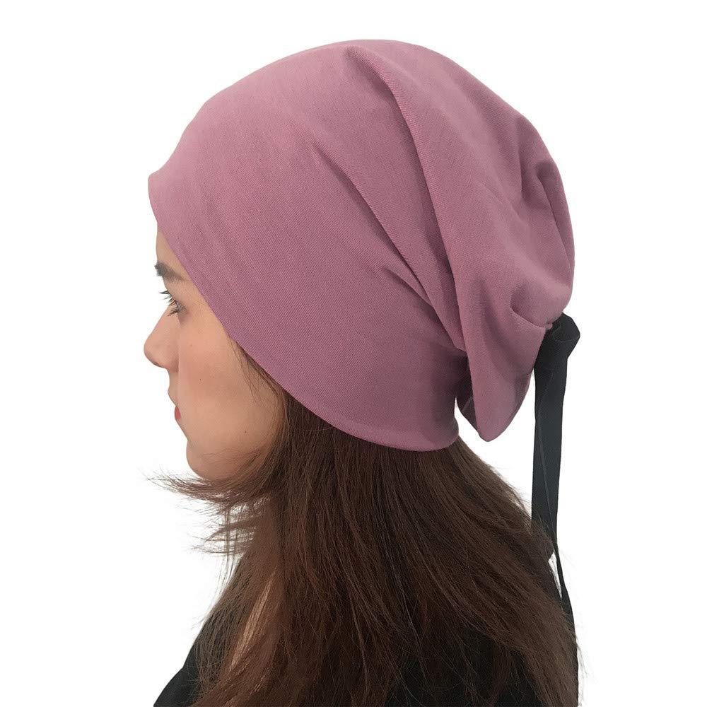 FeiBeauty Damen-Normallack-Art- und Weisebogen-Turban-Kappen-Art und Weise mit Kapuze Korn-Haube