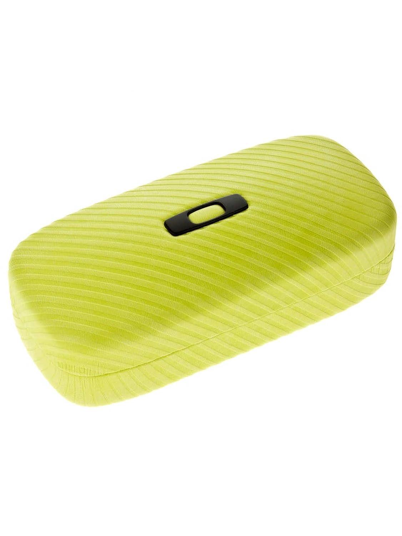 oakley frogskins size chart 04wn  Oakley Cases 100-270-002 Neon Yellow Square O Hard Case Aviator Sunglasses