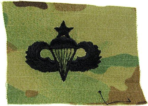 Senior Parachutist Badge (Parachutist Qualification Badge (Jump Wings) - Multicam SEW-ON)