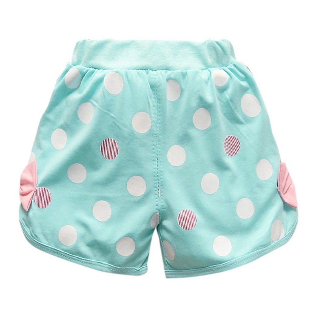 Pantaloni corti abiti set Brightup 2 pezzi bambine estate abiti set Bambini del bambino manica corta T-Shirt Top