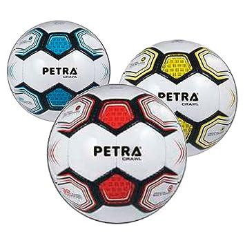 Cosas Internacionales - Petra, balón fútbol, 3 Capas, Cuero (10005 ...