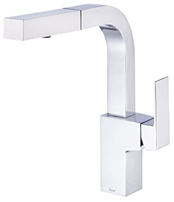 Danze D404562 Mid-Town Single Handle Pull-Out Kitchen Faucet