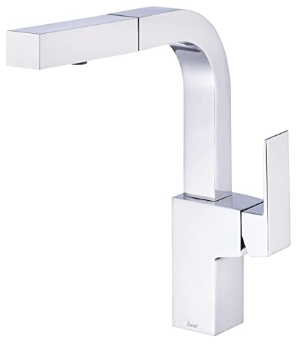 Danze Mid-Town Single Handle Pull-Out Kitchen Faucet