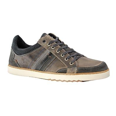 Mustang - Zapatillas de deporte para hombre, azul (azul marino), 45: Amazon.es: Zapatos y complementos