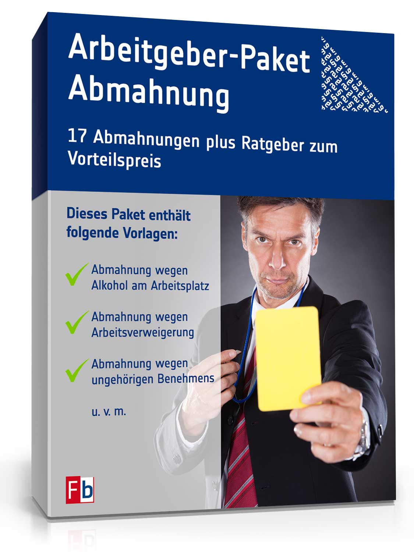 Arbeitgeber Paket Abmahnung Zip Ordner Download Amazonde Software