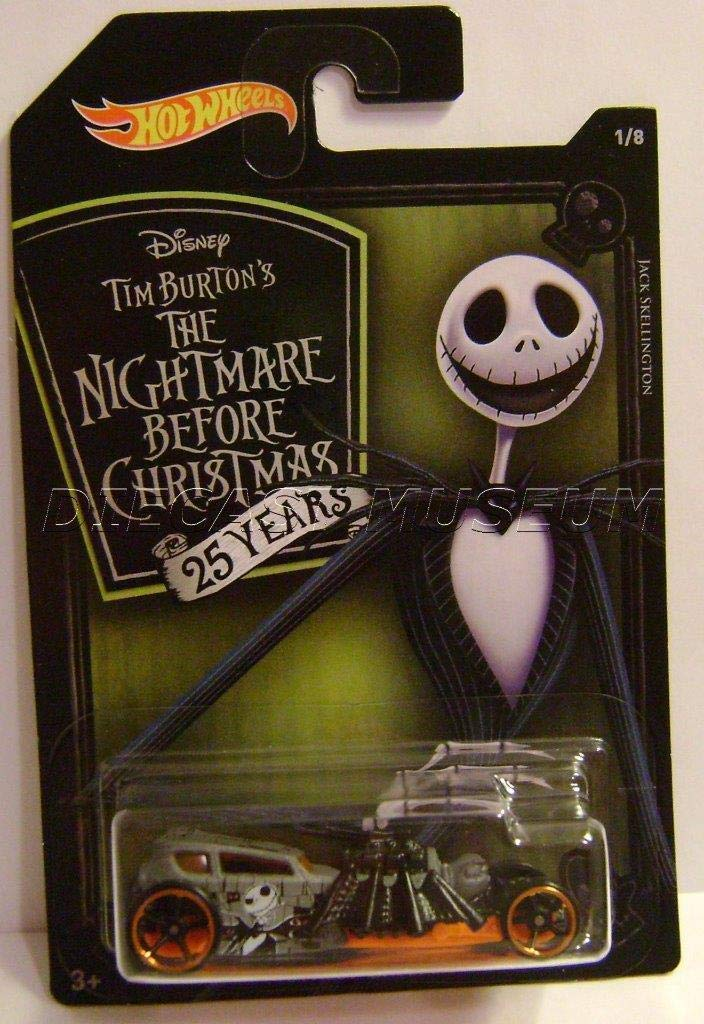 Street Creeper 1/8 Jack Skellington Nightmare Before Christmas HOT Wheels 2018 Tim Burton's H WHEELS