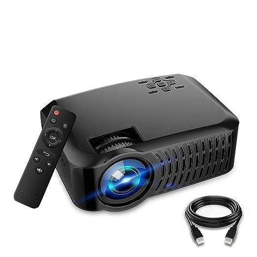 Ai LIFE Proyector WiFi Pantalla Full HD 1080P y 180