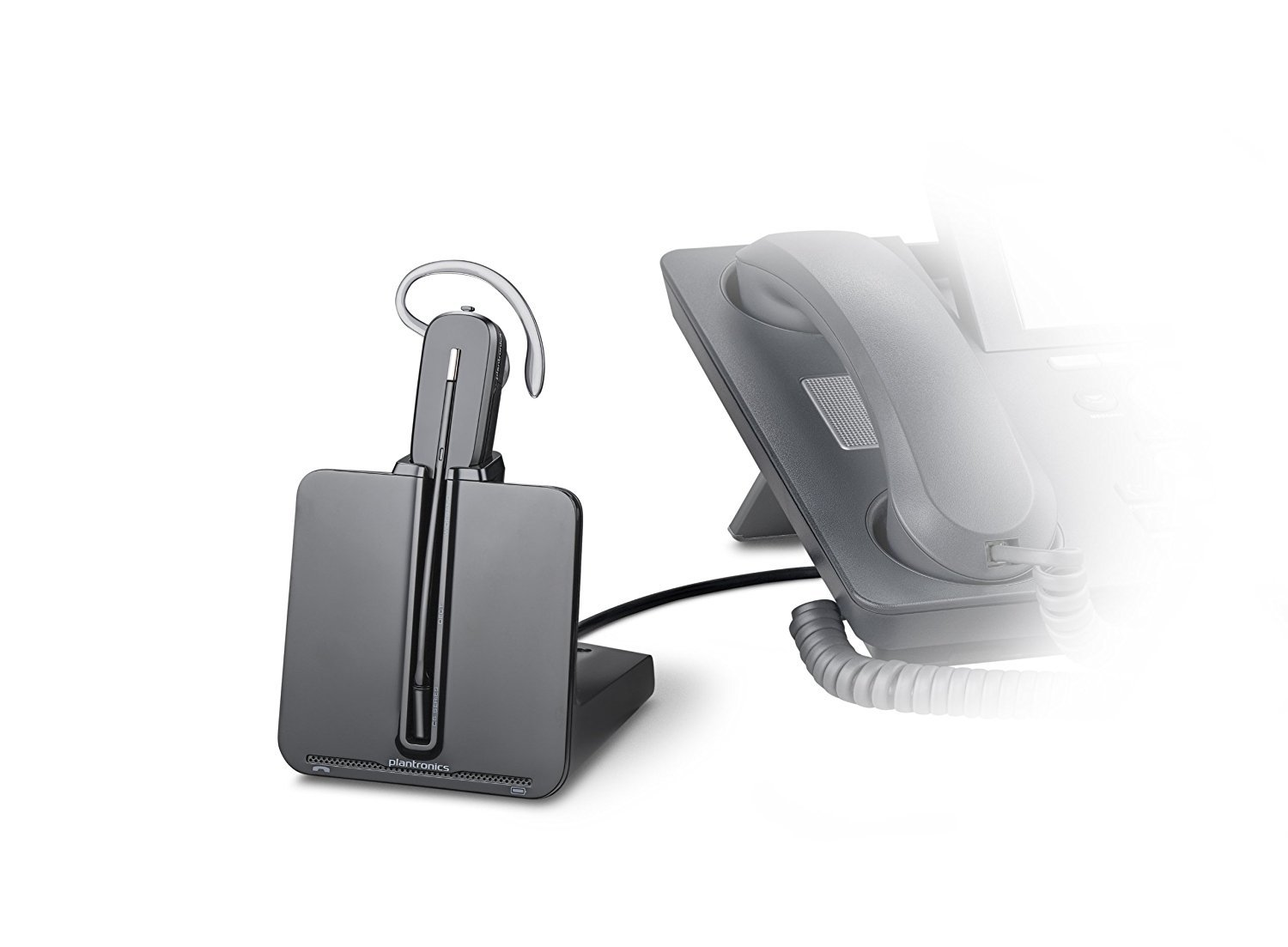 Plantronics CS540 Wireless Headset System With HL10 and Online Indicator (Certified Refurbished)