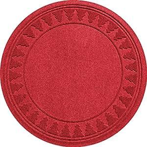 Aqua Shield Base de árbol de pino árboles, 35por 89, Solid Rojo