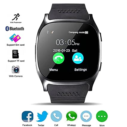 Amazon.com: dxable Smart Watch para teléfonos Android, apoyo ...