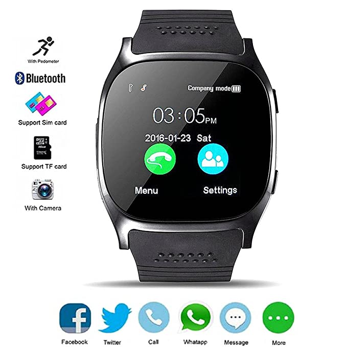217437e74dce DXABLE Bluetooth Smart Watch Fitness Tracker
